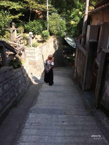 尾道千光寺公園の遊歩道
