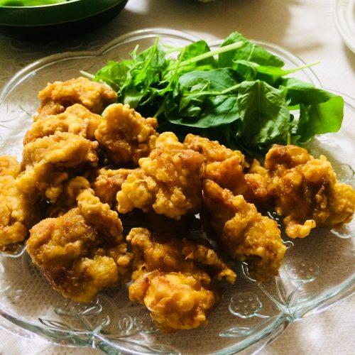 お誕生日パーティーメニュー中華風のから揚げレシピ