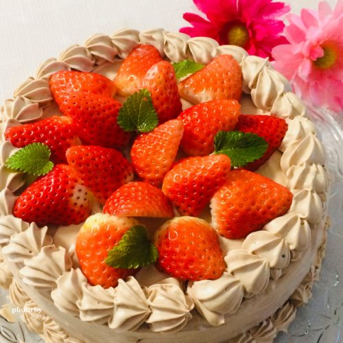 次男17歳のバースデーケーキ