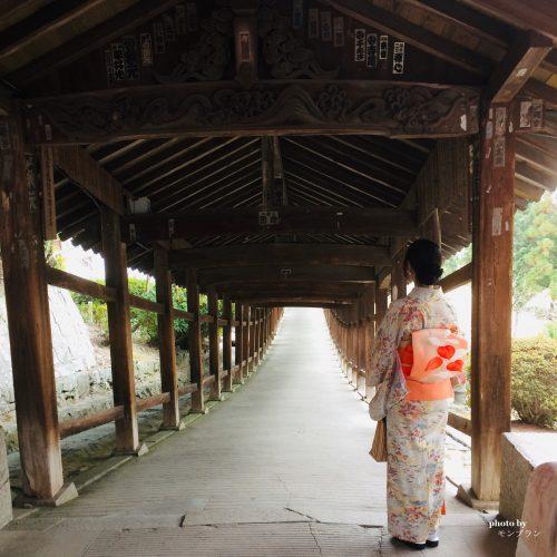 神社の大回廊