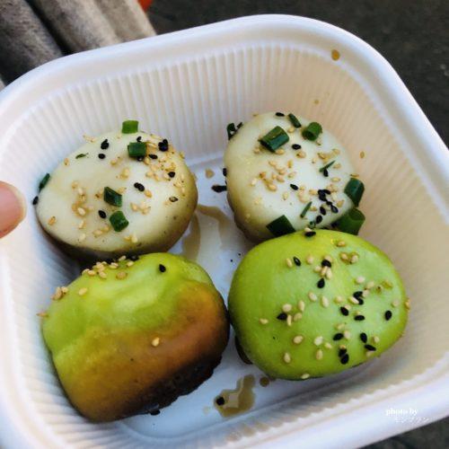 横浜中華街名物焼き小籠包