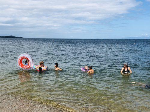 夏休みの淡路島海水浴