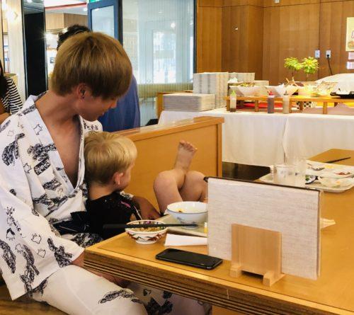 淡路島旅行記の長男と甥っ子