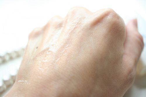 肌潤美白化粧水の使い心地
