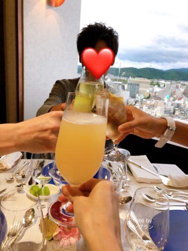 ハタチのお誕生日はホテルでディナーパーティー
