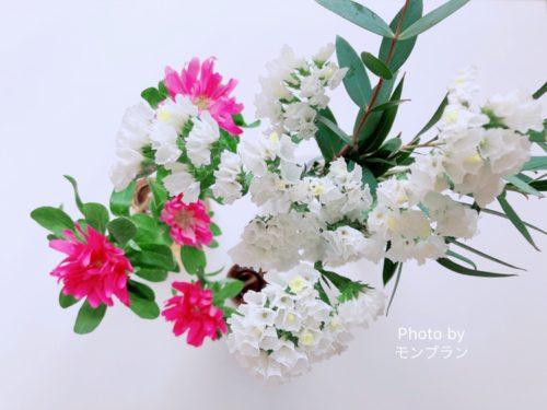 ブルーミーライフの花束ボリューム感