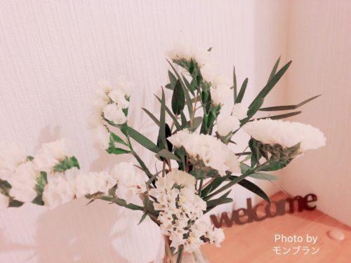 ブルーミーライフの1週間後のお花の様子