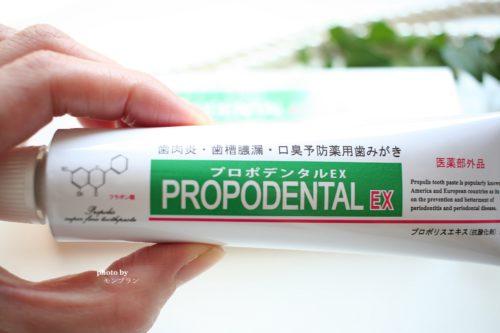 歯周病改善効果のある歯みがき粉プロポデンタルEXの口コミ