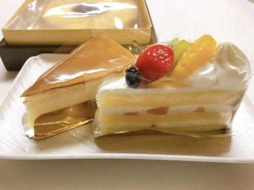 長男からのホワイトデーケーキ