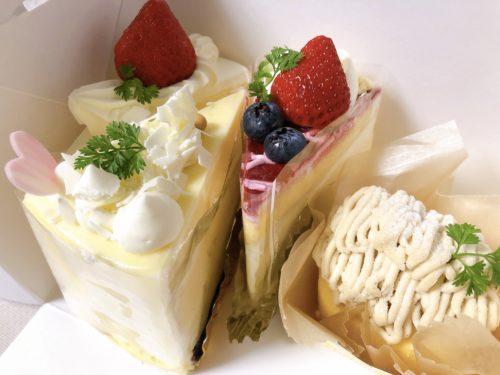 卒業祝いのケーキ