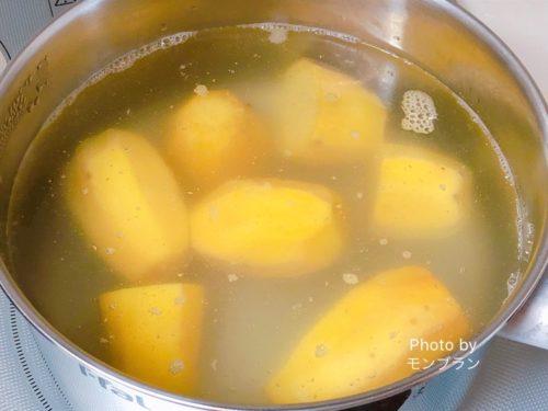 ねっとり甘い芋天の作り方のコツ
