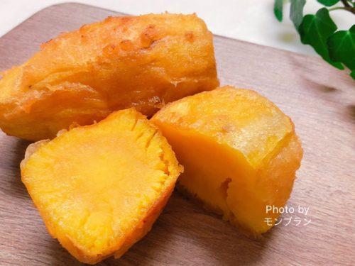 激甘!まるでスイーツのようなさつま芋の天ぷらのレシピ