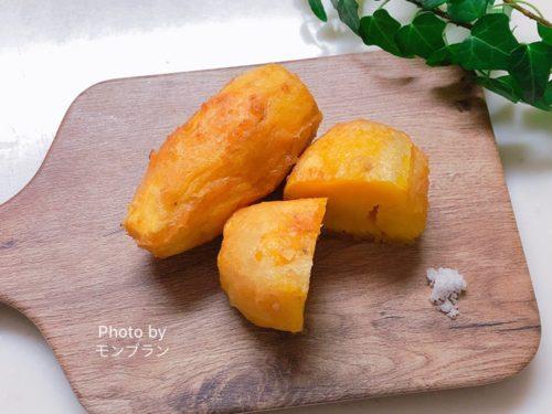 甘くておいしいさつま芋の天ぷらの作り方