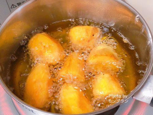 さつま芋の天ぷらを甘く作るコツ