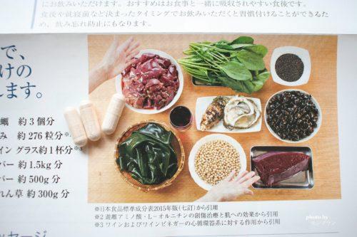 ブラックサプリに含まれる栄養素