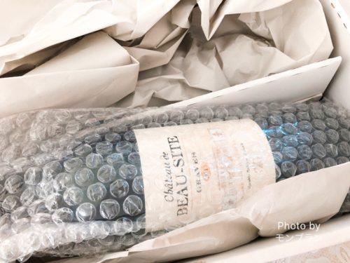 ワインの定期便「ミシュラン星付きセレクション」のお届け様子