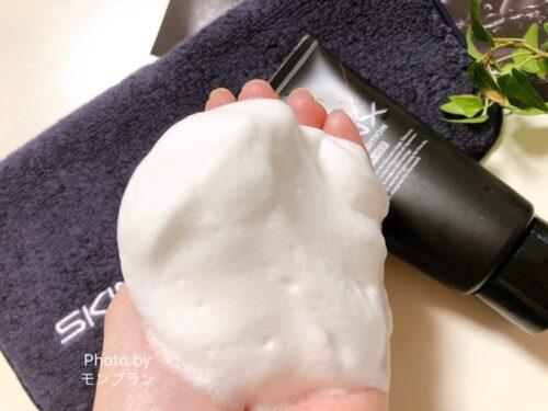 SKINX洗顔料の使用レビュー