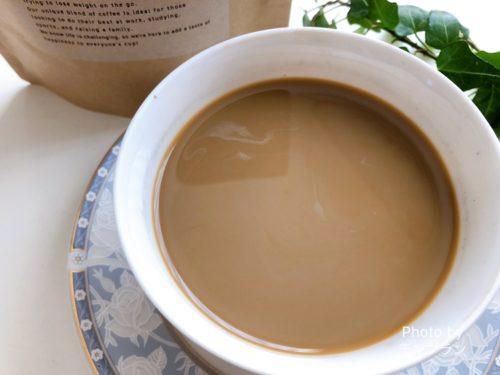 炭コーヒースリムコーヒーのカフェオレ