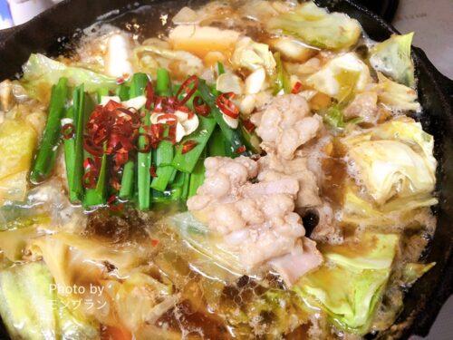 島本博多もつ鍋のお味を口コミ