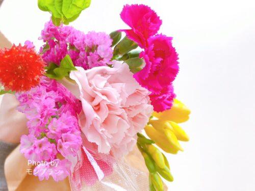 元気にポストに届いたブルーミー800円プラン今週のお花