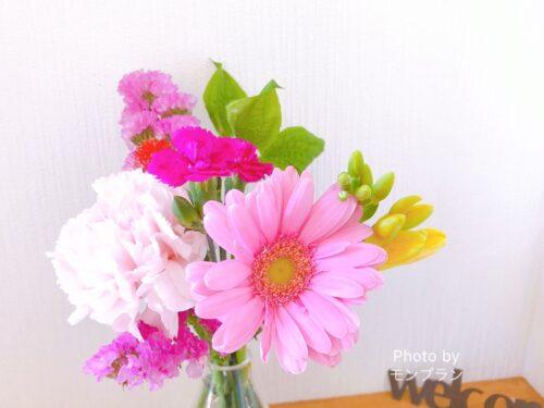 ブルーミーのお花は長持ちします