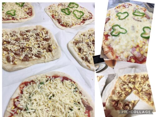 GWの手作りピザ(レシピ)