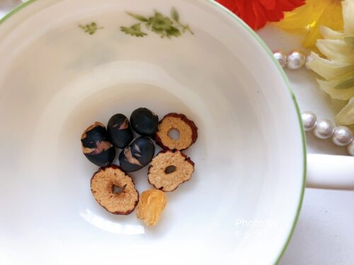 デイリリーの食べる薬膳茶の作り方